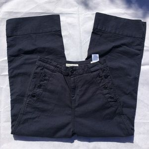 Joie Adolphine cropped pants in blue size 26 (blk)